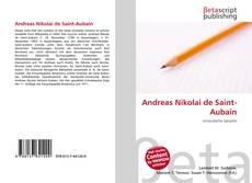 Bookcover of Andreas Nikolai de Saint-Aubain