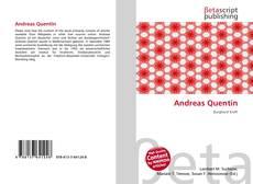 Buchcover von Andreas Quentin