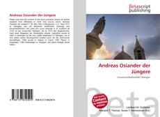 Buchcover von Andreas Osiander der Jüngere