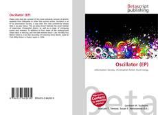 Bookcover of Oscillator (EP)