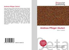 Обложка Andreas Pflüger (Autor)