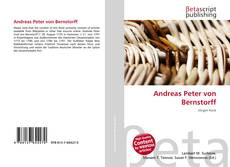 Buchcover von Andreas Peter von Bernstorff