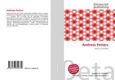 Capa do livro de Andreas Petters