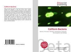 Bookcover of Coliform Bacteria