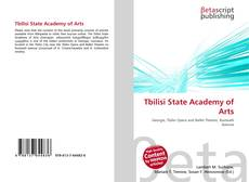 Bookcover of Tbilisi State Academy of Arts