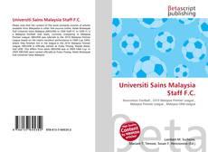 Bookcover of Universiti Sains Malaysia Staff F.C.