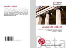 Bookcover of Universities Scotland