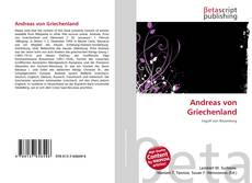 Bookcover of Andreas von Griechenland