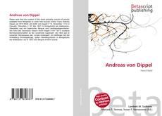 Capa do livro de Andreas von Dippel