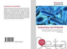 Escherichia Coli O104:H4的封面