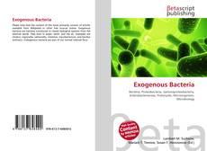 Buchcover von Exogenous Bacteria