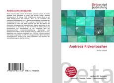 Andreas Rickenbacher kitap kapağı
