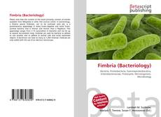 Обложка Fimbria (Bacteriology)
