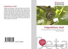 Couverture de Fulgurofusus, Snail