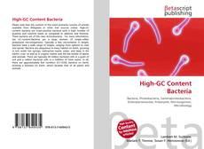 Buchcover von High-GC Content Bacteria
