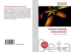 Buchcover von Andreas Rudolph (Unternehmer)