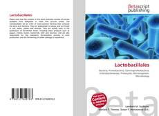 Lactobacillales kitap kapağı