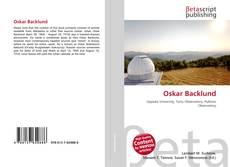 Bookcover of Oskar Backlund