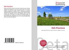 Osh Province kitap kapağı