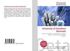 University of Southern Denmark的封面