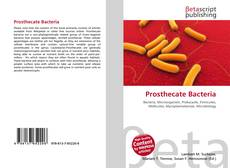 Buchcover von Prosthecate Bacteria