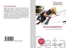 Buchcover von Bauwerksabdichter