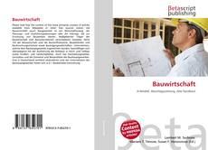Capa do livro de Bauwirtschaft