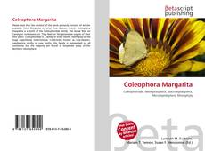 Capa do livro de Coleophora Margarita
