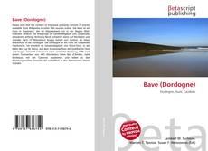 Portada del libro de Bave (Dordogne)