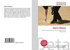 Osiris Matos kitap kapağı
