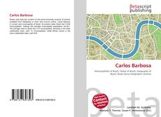 Capa do livro de Carlos Barbosa
