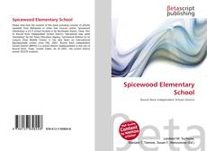 Bookcover of Spicewood Elementary School