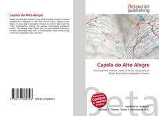Bookcover of Capela do Alto Alegre