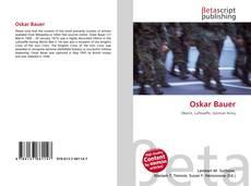 Buchcover von Oskar Bauer