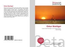 Buchcover von Oskar Boettger