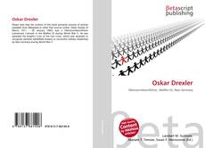 Buchcover von Oskar Drexler