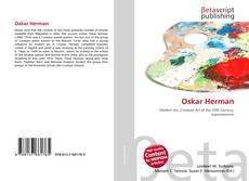 Buchcover von Oskar Herman