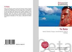 Te Rata kitap kapağı