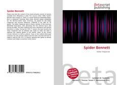 Buchcover von Spider Bennett