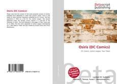 Osiris (DC Comics) kitap kapağı