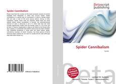 Couverture de Spider Cannibalism