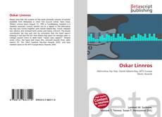 Portada del libro de Oskar Linnros
