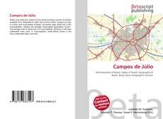 Bookcover of Campos de Júlio