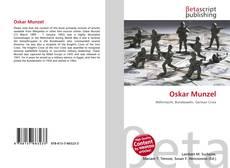 Buchcover von Oskar Munzel