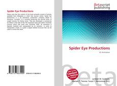 Spider Eye Productions kitap kapağı