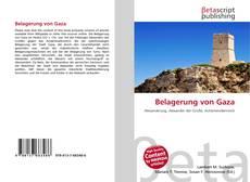 Bookcover of Belagerung von Gaza