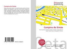 Bookcover of Campina do Simão