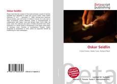 Buchcover von Oskar Seidlin