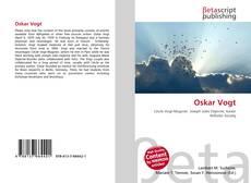 Buchcover von Oskar Vogt