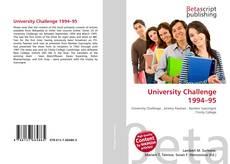 Обложка University Challenge 1994–95